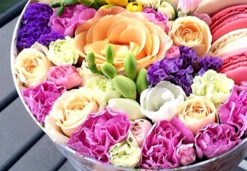 цветы в коробке love box